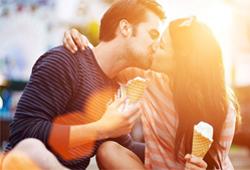 Taurus Woman in Love with Libra Man